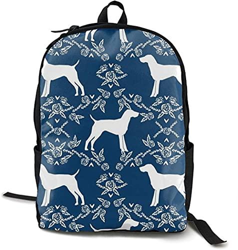 La mochila de viaje de ,Mochila acampar al aire libre ordenador portátil, mochila informal la escuela, mochila el hombro, mochila la espalda, moda clásica, bolsa perro con puntero de pelo cort