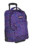 JanSport SuperBreak Wheeled Backpack - 19' (Purple Spot-O-Rama)