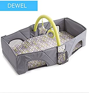 DEWEL Foldable Crib Baby Crib Baby Carrying Bed Baby Traveling & Traveling for Going Out etc. Convenient Shoulder Bag
