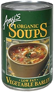 Amy's Organic Vegetable Barley Soup 14.1 Oz [Pack of 6]