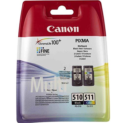 Canon PG 510/CL 511 originale cartuccia di inchiostro nero, colore