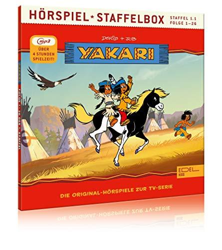 Yakari - Staffelbox 1.1 (mp3-CD) - Die Original-Hörspiele zur TV-Serie (Folge 1 - 26)