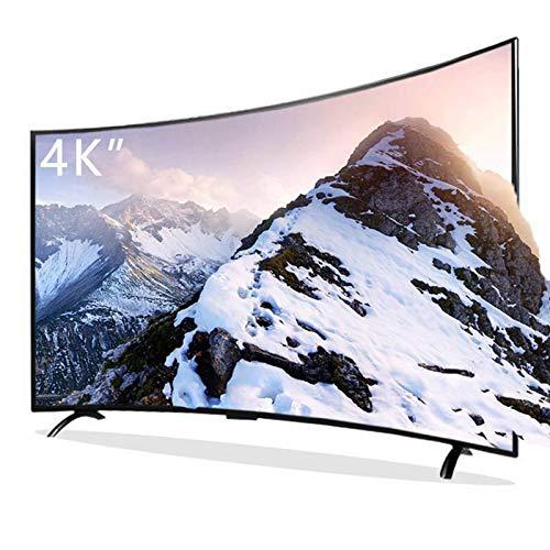 Home appliances Pantalla De Computadora De TV Curvada Inteligente, Televisor LCD UHD Ultrafino con Pantalla De Cristal Templado, Interfaz Externa Rich TV con WiFi, 32 Pulgadas-55 Pulgadas
