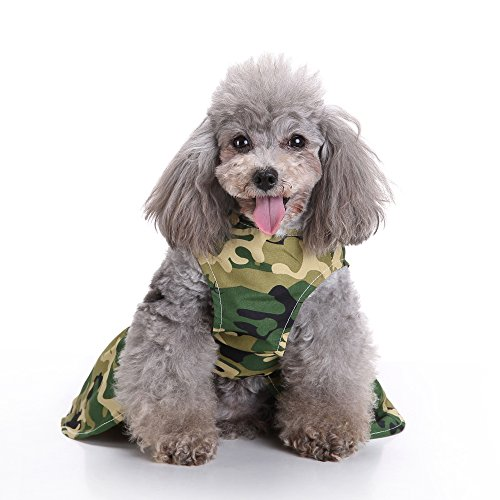 Modow huisdierkleding hondenjurk vest zomerjurk, hondenjurk leuke puppy jurk voor kleine en middelgrote honden, XS