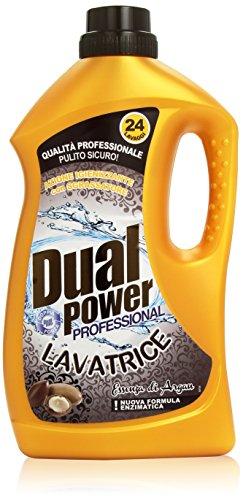 Dual Power - Detergente Liquido, Essenza di Argan, 1.68 l