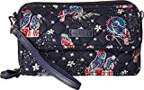Vera Bradley Iconic RFID All-In-One Crossbody Holiday Owls One Size