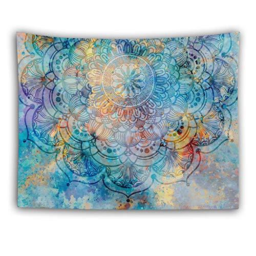 Estilo étnico tapiz colgando paño de pared decoración de la cama de la cabecera Dormitorio de la tela de fondo de tapicería-Color foto_100 * 150 cm