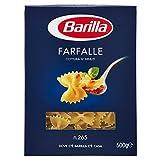 Barilla Pasta Farfalle, Pasta Corta di Semola di Grano Duro, I...