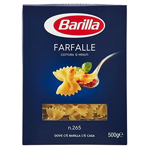 Barilla Pasta Farfalle, Pasta Corta di Semola di Grano Duro, I Classici, 500 g