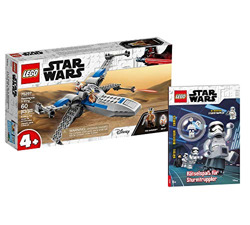 Collectix Lego 75297 Star Wars Resistance X-Wing - Juego de figuras de Star Wars (cubierta blanda)