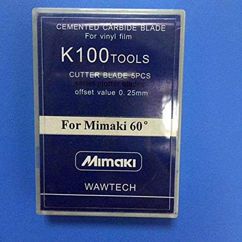 Yoton 10pcs / lot mimaki cutting blade 60 degree Mimaki cutter plotter knife For Mimaki jv3 cjv30 cjv150 plotter