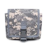 Sawpy 1000D Tactical Phone Pouch Bag, EDC Sports Molle Pouch Hunting Riñonera, Utility Gadget Pouch Shooting Fanny Bag Cintura Bell Pack