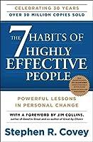 【Stephen R. Covey】 高効果の人々の7つの習慣 - 個人変更ペーパーバックで強力なレッスン。