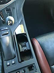 Cup Holder insert For Lexus RX Production Years : 2010 2011 2012 2013 2014 2015 Cup Holder Color : Black