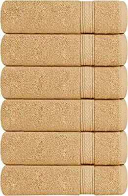 Utopia Towels Cotton Hand Towels, 6 Pack Towels, 700 GSM