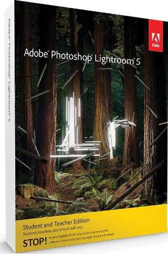 Adobe Photoshop Lightroom 5 Student and Teacher* WIN & MAC