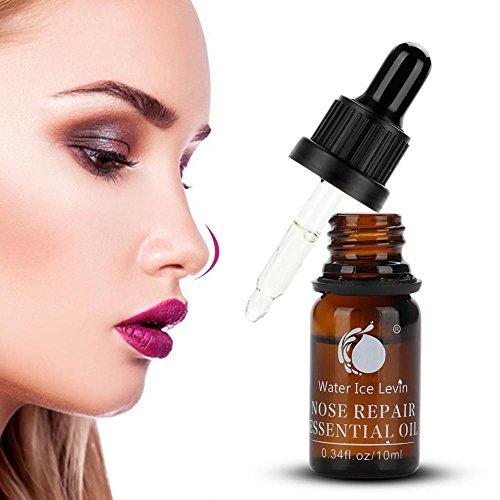 Aceite de reparación de nariz, Aceite de masaje profesional de elevación de nariz Aumente la rinoplastia Remodelación de hueso nasal Adelgazante Formando suero