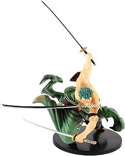zhongjiany Figura de acción de 18 cm One Piece Roronoa Zoro PVC Figura de acción Pop Modelo Regalo 18CM