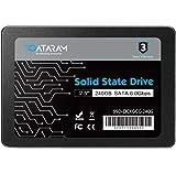 DATARAM 2.5' SSD, 6.0 Gbps SATAIII Solid State Drive High Speed Read & Write (240GB)