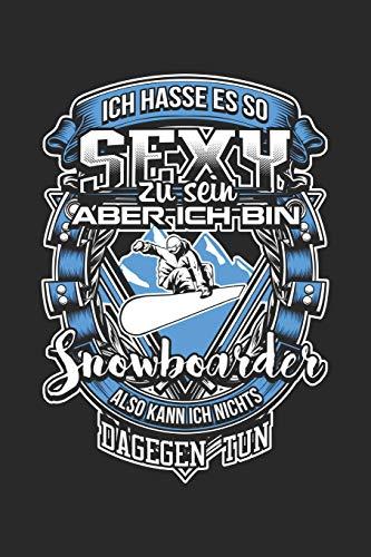 Sexy Snowboardfahrer: Notizbuch / Notizheft für Snowboarder Snow-board-en Snowboarding A5 (6x9in) dotted Punktraster
