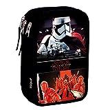 Star Wars Vicious - Plumier de triple compartimento 45 piezas, estuche (Perona 55580)