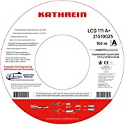 Kathrein LCD 111 Koaxialkabel 1,13/6,9 mm PVC 100 m Einwegspule weiß