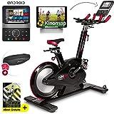 Sportstech Elite Indoor Bike Cyclette -Marchio di qualità Tedesco- Eventi Video e Multiplayer App,...
