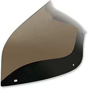 Memphis Shades MEP85401 Smoke Windshield (Spoiler Replacement For Oem Fairings Shield Fltr Road Glide 2004-2013 5
