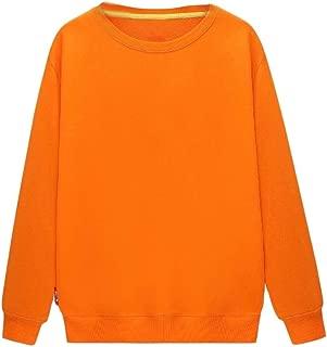 MogogoMen Pullover Crew Classic Casual T-Shirts Long Sleeve Sweatshirts