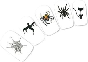 JUSTFOX - tattoo nail Halloween doodshoofden vleer...
