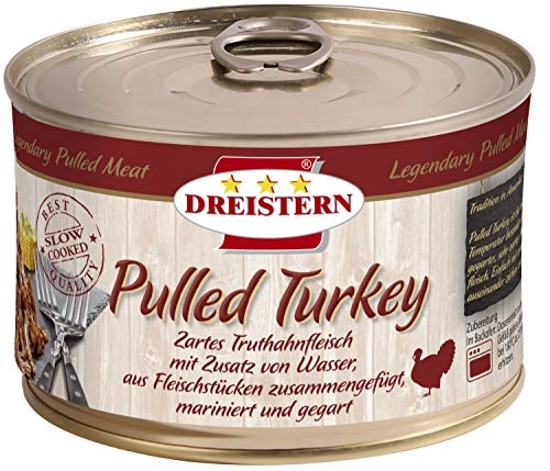 Dreistern Pulled Turkey, 400 g