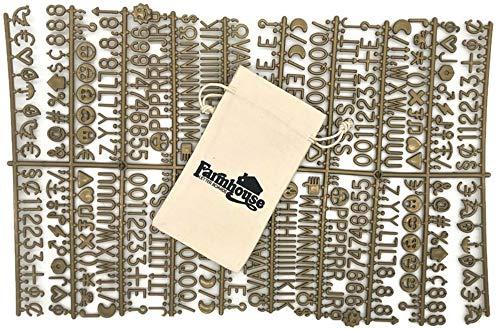 tablero letras intercambiables fabricante Farmhouse Letter Boards