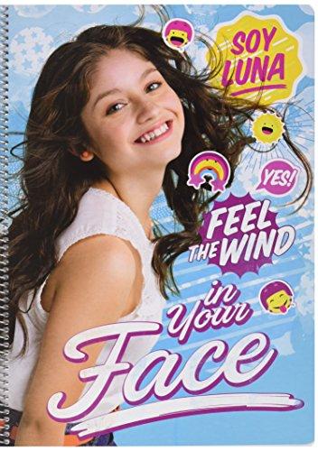 Grupo Erik Editores Cuaderno Tapa Dura A4 5X5 Disney Soy Luna