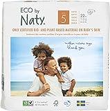 Eco by Naty, Talla 5, 132 pañales, 11-25kg, suministro para UN MES, Pañal...