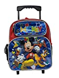 Mickey Mouse 12' Small Toddler Rolling School Backpack - 16183