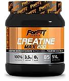 ForFit Sports Creatine Max, integratore in polvere con creatina + taurina, gusto arancia, 510 g, 85 porzioni