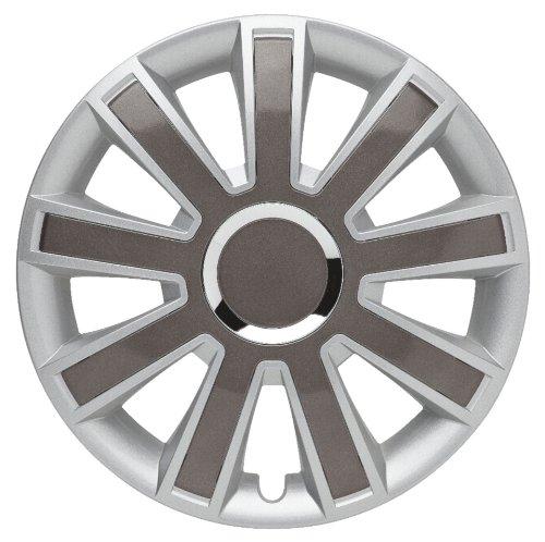 ALBRECHT automotive 49366 Radzierblende Flash II 16 Zoll, 1 Satz, Silber/Grau