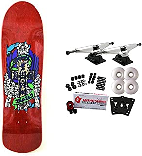 Dogtown Skateboard Complete Dressen M80 Red 8.75