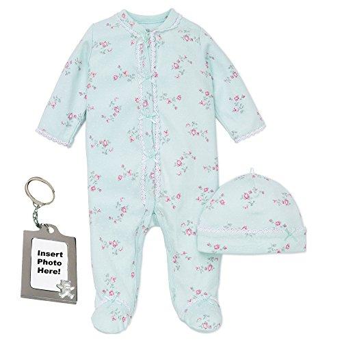 Little Me Preemie conjunto de dormir para bebé recién nacido Sleep N Play pijama gorro y agarre