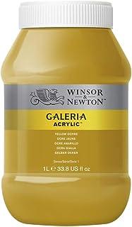 Winsor & Newton Tinta Acrílica Galeria W&N 1 Litro Yellow Ochre