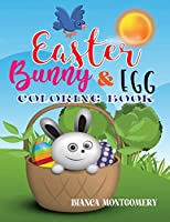 Easter Bunny & Egg Coloring Book