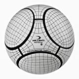 Millenti Pro Frame Match Ball Training Soccer Balls White Black for Kids and Adults
