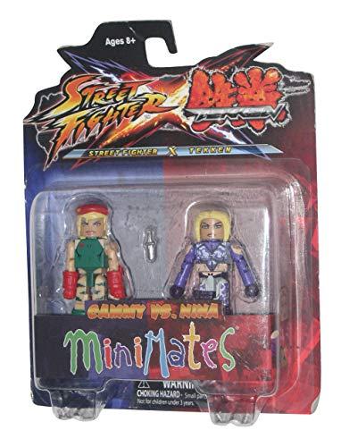Street Fighter X Tekken Minimates Figure 2 Pack Cammy vs Nina