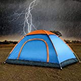 Kresal Waterproof Polyester Camping and Outdoor Tent 6 Person Tent (Multi Color)