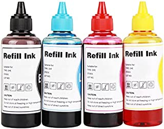CoYlBod Refill Ink Kit for LC01 LC103 LC201 LC203 MFC-J480DW MFC-J870DW MFC-J475DW MFC-J485DW MFC-J450DW MFC-J880DW MFC-J885DW DCP-J152 DCP-J140 Ink,for Refillable Cartridges or CISS