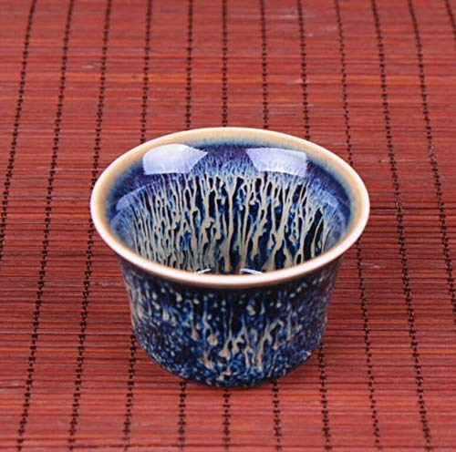 Qnmbdgm theekop van keramiek, Pu'er Kung voor Chinese thee-set Temmoku Istikan Taianmu Cup, email