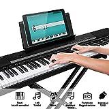 Immagine 1 bakaji tastiera musicale pianola elettronica