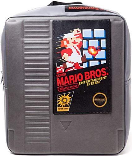 Nintendo - NES Super Mario Bros rugzak, grijs (grijs)