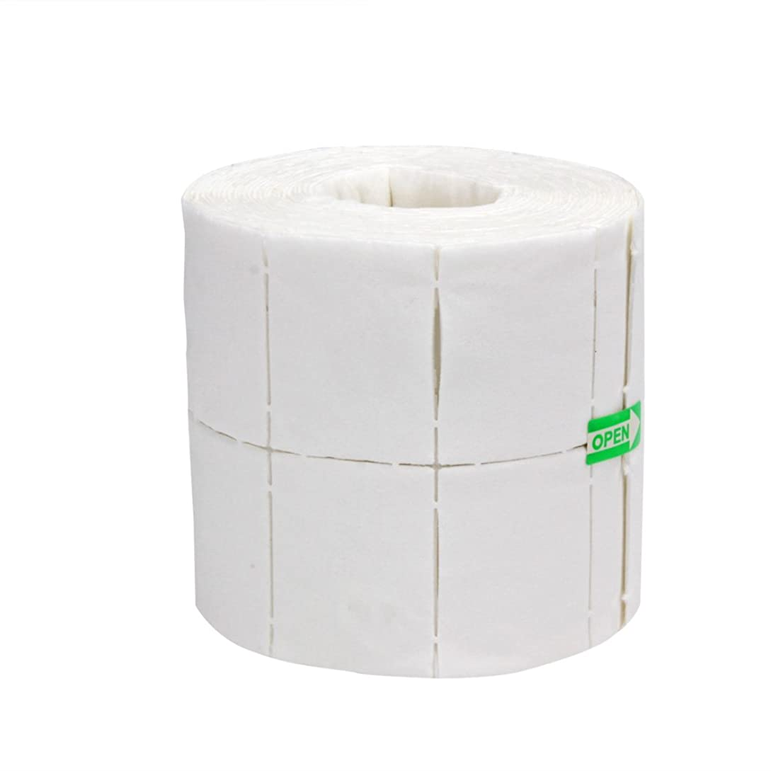 プロット公テクスチャーHighplus 500pcs Nail Wipe Cotton Pads Nail Manicure Polish Remover Cleaner Paper