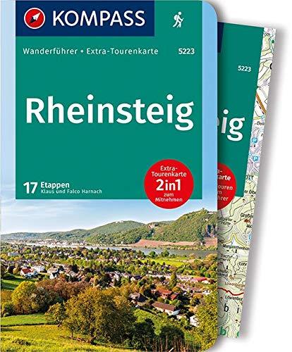 KOMPASS Wanderführer Rheinsteig: Wanderführer mit Extra-Tourenkarte 1:50.000, 17 Etappen, GPX-Daten zum Download